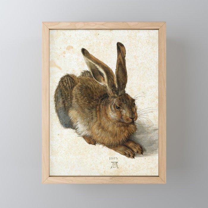 Albrecht Durer - Hare Framed Mini Art Print