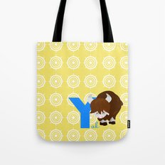 y for yak Tote Bag