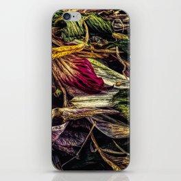 Dried Flower Petals iPhone Skin