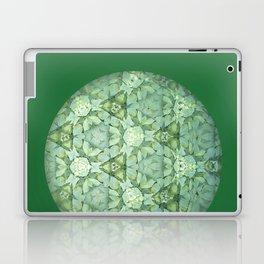 Kaleidoscopic Green Again Laptop & iPad Skin