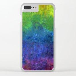 Chakra Rainbow Clear iPhone Case