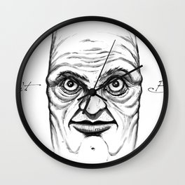 Don't Blink Wall Clock
