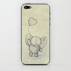 Cute Elephant II iPhone & iPod Skin