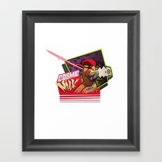 COSMIC MILK Framed Art Print
