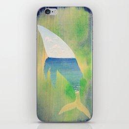 Beached Whale iPhone Skin
