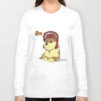 doge Long Sleeve T-shirts featuring Diamond Doge by merimeaux