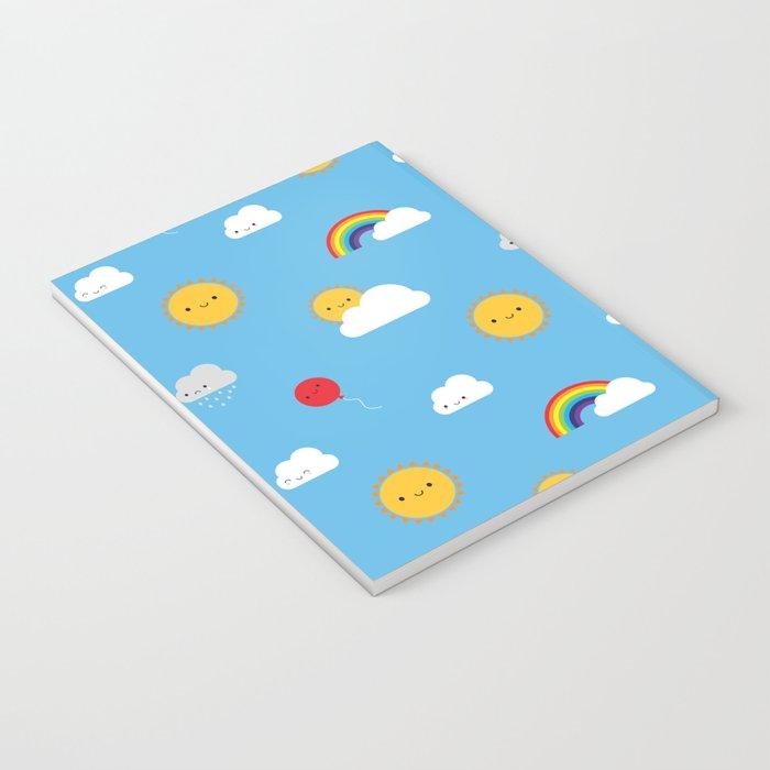 Kawaii Skies Notebook
