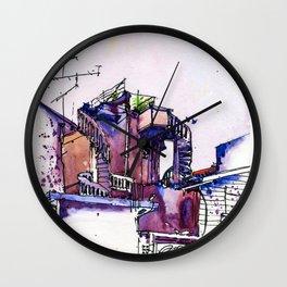 20160619 Kluang Backlane Wall Clock