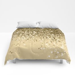 Cali Summer Vibes Lady Glitter #1 #shiny #decor #art #society6 Comforters