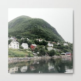 village in norway Metal Print