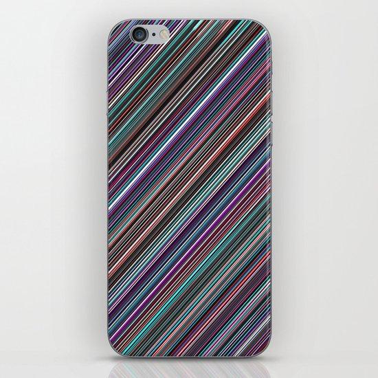 The randomized stripes iPhone & iPod Skin