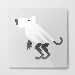 Werewolf / Ghost Metal Print