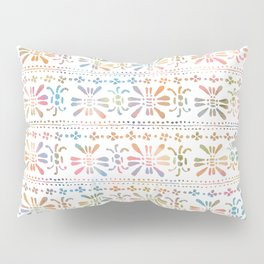 Rainbow Butterfly Insects Pillow Sham