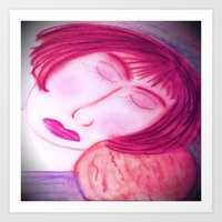 Her Baby Made Her Whole... Art Print
