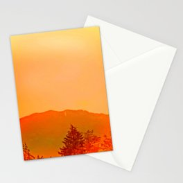 Play after sunset Stationery Cards