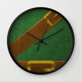 Video Game Poster: Adventurer Wall Clock