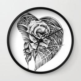 Rose Beat Wall Clock