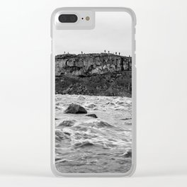 Always rushing Clear iPhone Case