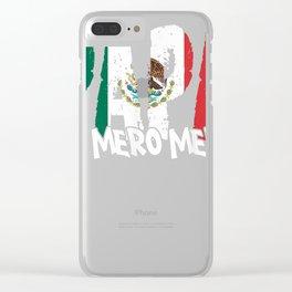 Mens Feliz Dia Papa T-Shirt El Mero Mero Dia Del Padre Funny Tee Clear iPhone Case