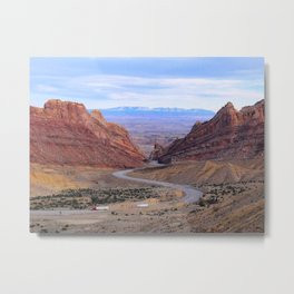 Colorado Highway Metal Print