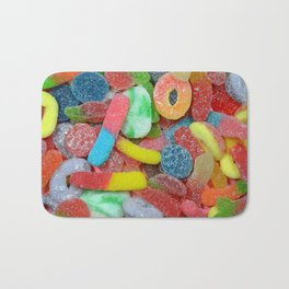 Colorful chewy candy Bath Mat