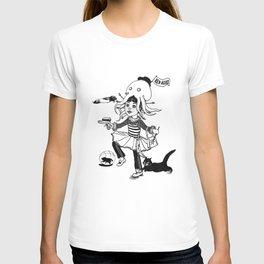 Little miss captain Spontaneous T-shirt