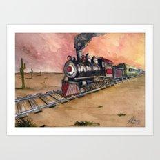 Southwest Journey Art Print