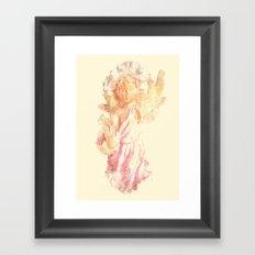 Broken Angel Framed Art Print