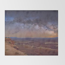 Nightscape Throw Blanket