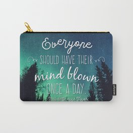 Inspirational Poster - Neil deGrasse Tyson Quote Carry-All Pouch