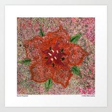 Scarlet Pimpernel Art Print