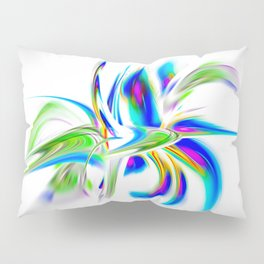 Abstract perfection - Flower Magical Pillow Sham
