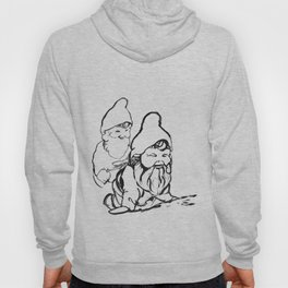 Gnomely playing  Hoody