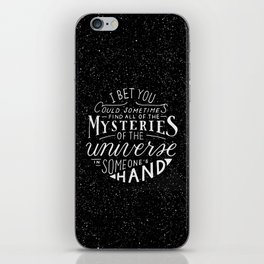 All of the Mysteries of the Universe iPhone Skin