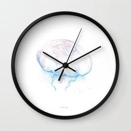 Aurelia aurita (color) Wall Clock