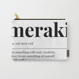 Meraki Carry-All Pouch