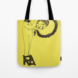 P / disable alphabet Tote Bag