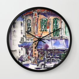 20140414 Sam Leong St Wall Clock