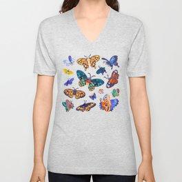 Butterflies Day Unisex V-Neck