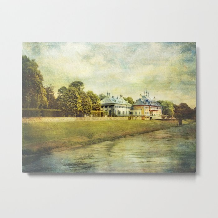 Pillnitz castle Metal Print