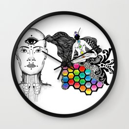 [spirit molecule] Wall Clock