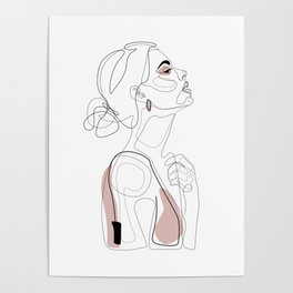 Blush Beauty Poster