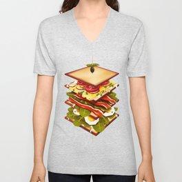 Sandwich Unisex V-Neck