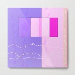 Squares combined no. 10 Metal Print