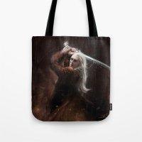 thranduil Tote Bags featuring Thranduil by LucioL