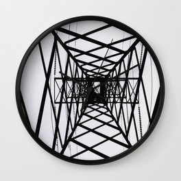 metal structure Wall Clock