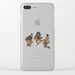 Team Free Will. Trampoline Clear iPhone Case