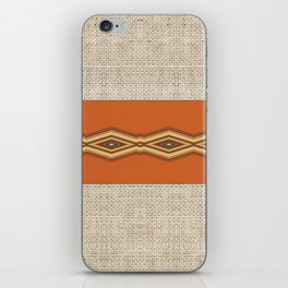 Southwestern Earth Tone Texture Design iPhone Skin