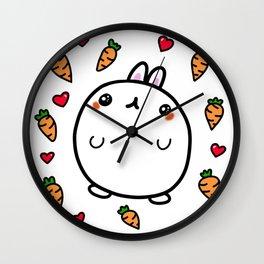 Little Bunny Ronnie Wall Clock