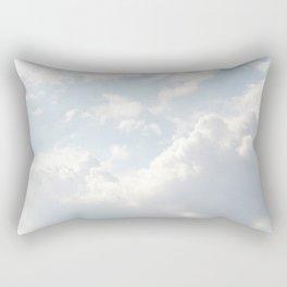 Clouds in the sky Rectangular Pillow